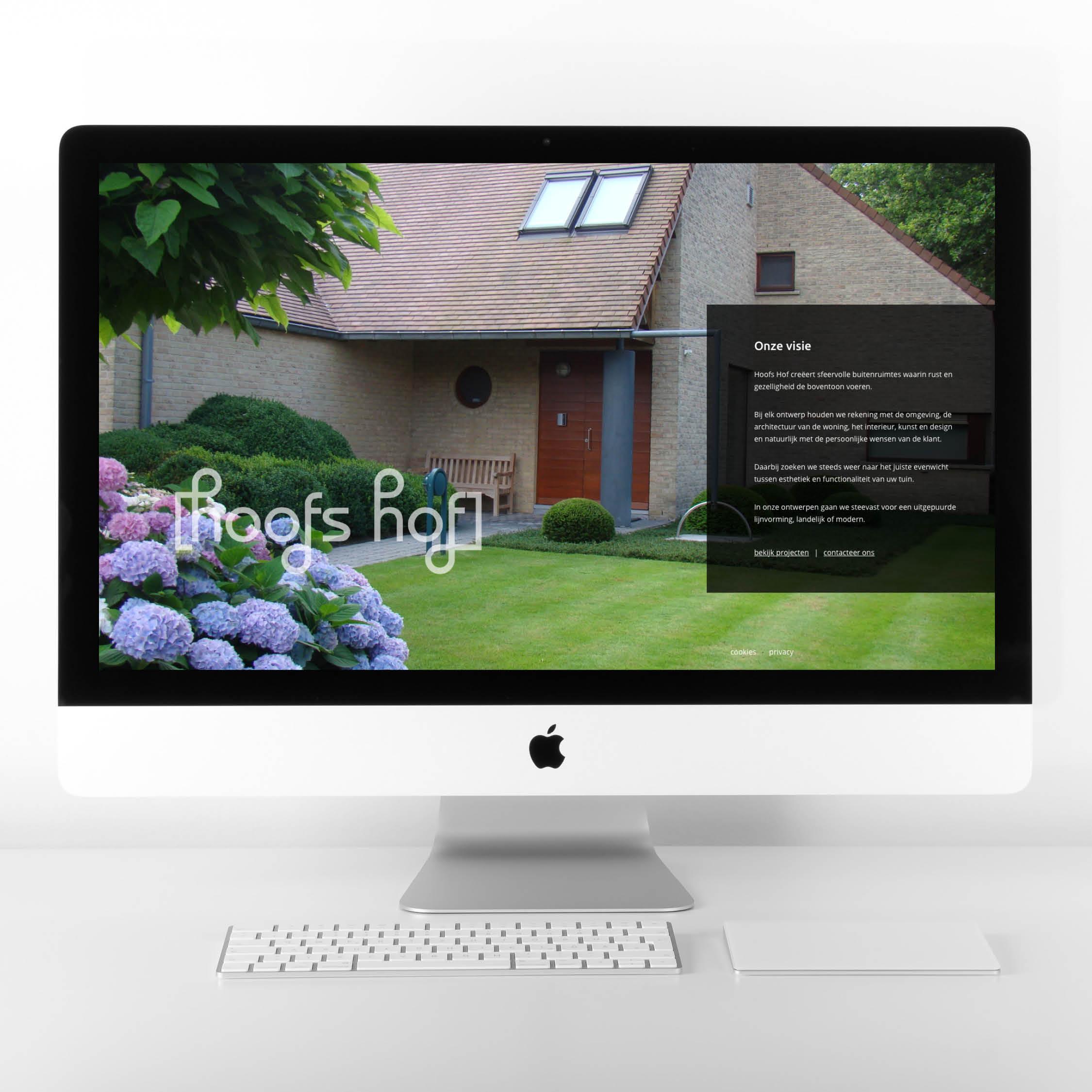 Hoofs Hof nieuwe website webdesign