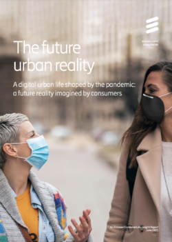Ericsson The future urban reality cover